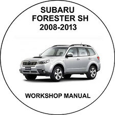 Subaru Forester SH 2008-2013 Workshop Service Repair Manual