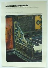 Vintage Musical Instruments Exhibition Metropolitan Museum Art MET Poster