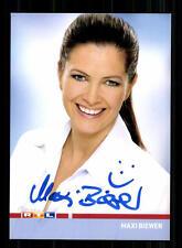 Maxi Biewer RTL Autogrammkarte Original Signiert # BC 84965