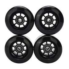 4pcs Black 8044 80A 80mm PU Wheels for Longboard Skateboard Flywheels Set