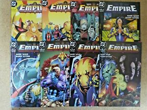 Empire.coleccion completa 8 comics.DC.Planeta