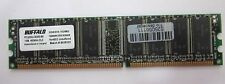 BUFFALO MODULO RAM 1GB SOBREMESA DDR 400 PC3200U 400MHz SDRAM NonECC
