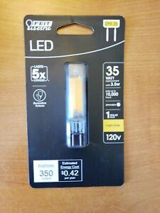 Feit Electric 35-Watt White GY6.35 Dimmable Bi-Pin LED Light Bulb - NEW!