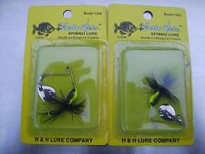 Lot of 2 Cutie Spin Spinno lure model 1900 1/16oz H&H lure company