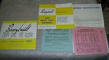BAVEYSTOCK of LONDON E.15 BAVEYBUILT NURSERY FURNITURE BUYERS GUIDE 1964 & 1965