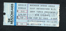 Original 1982 Rod Stewart Concert Ticket Stub Meadowlands Blondes Have More Fun