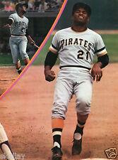 1970 Print Magazine Pic of Roberto Clemente Pittsburgh Pirates