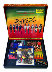 V/A Rockers The Irie Box DELUXE LIMITED LP + DVD + Blu Ray Vinyl Record Box Set