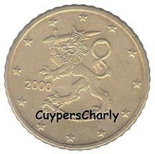 Finland 2000 50 Cent UNC