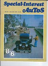 SPECIAL INTEREST AUTO -SIA 41, 1931 Buick 8, 1941 Ford 6, Rotary Engine History