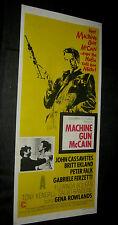 Original Cassavetes MACHINE GUN McCAIN Australian Daybill South Pacific Style