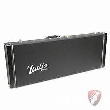 New! Italia Hardshell Electric Guitar Case Black - Fits Modena, Mondial, Rimini