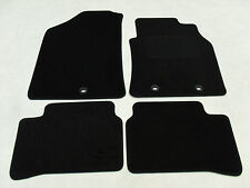Hyundai i10 2014-on Fully Tailored Deluxe Car Mats in Black