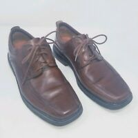 Clarks Leather Brown Men's Shoes Structured Size 9 M Oxfords Shoes