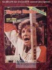SPORTS ILLUSTRATED February 23 1976 BOBBY CLARKE INNSBRUCK OLYMPICS Bobby Clarke