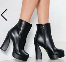 Brand New Vegan Lether Boots