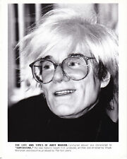 Andy Warhol Superstar Chuck Workman Original Vintage 1990