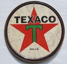 Texaco USA Tankstellen 1936 Vintage Stil Retro Werbung Metall Schild