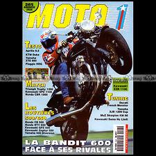 MOTO 1 N°148 APRILIA 6.5 STARCK KAWASAKI 500 GPZ 1100 ZZR TRIUMPH TROPHY 1200 95