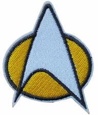STAR TREK LOGO EMBROIDERY IRON ON PATCH BADGE