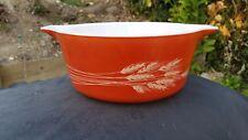 """Vintage PYREX Autumn Harvest 6¼"""" Casserole Dish / Bowl # 472 -B 750 ml. (NO LID)"""