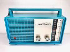 More details for national panasonic transistor radio rl-231r shortwave sw mw retro blue 70's