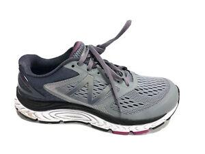 New Balance Women's 1540 Grey Blue Running Shoes, Size 9 Wide
