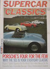 Supercar Classics magazine Winter 1983/1884 featuring Porsche, Pegaso