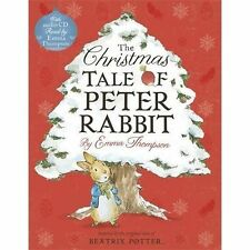 The Christmas Tale of Peter Rabbit Book and CD by Emma Thompson (Paperback, 2014)