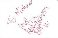 Lea Götz AK Playboy Playmate Autogrammkarte original signiert #3