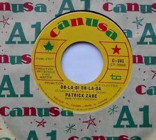 PATRICK ZABE Ob-la-di-ob-la-da THE BEATLES NM- CANADA 1968 FRENCH QUEBEC 45