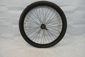 """Rear 26"""" Single Speed Cruiser Bike Wheel & Hub Black OLW110 25mm 36S AV Charity!"""