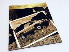 2000 Chevrolet S-10 LS Pickup Brochure