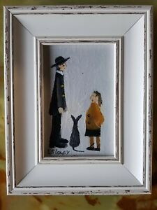 L S Lowry -  Oil Painting