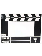 New Hollywood Movie Director Clap Board Picture Frame