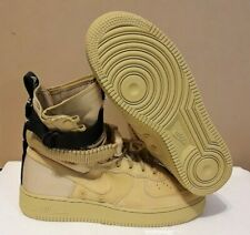 NIKE MEN'S SF AF1 CLUB GOLD/BLACK MILITARY LOOK BOOT 864 024 SIZE: 9