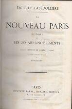 E.de LABÉDOLLIÈRE.Le Nouveau Paris.Illustrations de Gustave DORÉ