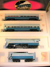 MTH 4-8-4 SF #3760 BLUE GOOSE Set: 30-1106-0, (MT) 20-6118/6018, Runs Well, C8