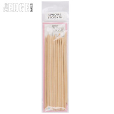 The Edge Nails 20 x Birchwood Professional Manicure Sticks Dual Ended