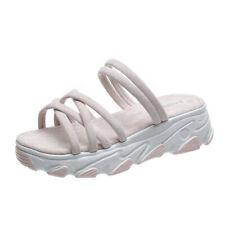 Womens New Sandals Sports Sole Platform Slippers Mid Heel Shoes 2020 Summer B