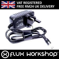 AC/DC Adaptor 9 12V UK Plug 240V 5.5mm 2.1mm Centre Arduino Flux Workshop