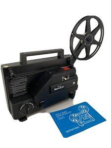 Sears 9215 Vintage Dual 8 Silent 200 Super 8 Projector In Original Box