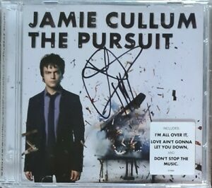 Jamie Cullum 'The Pursuit' cd album, hand signed in person by Jamie.