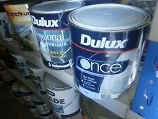 DULUX 2 LITRE ONCE CEILING-FLAT INTERIOR ONE-COAT WHITE paint