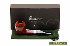 Peterson Sherlock Holmes Baker Street Smooth Finish Silver Mounted Pipe NEW