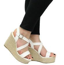 3de2ea11a92 White Espadrille Wedges in Women's Heels for sale | eBay
