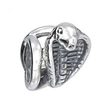 watsup argent perle pour les hommes breloques mkb-003 Serpent bijoux