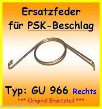 GU966 Ersatzfeder f. PSK 966 Schiebetür DIN R(Griff Rechts)Feder DIN Rechts G.U.