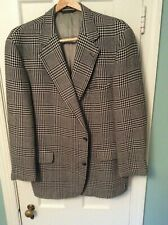 Vintage 100% Wool Grey Glen Men's Sport Jacket Size 42R