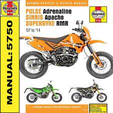 Pulse Pioneer Adrenaline Sinnis Apache Superbyke RMR 2007-14 Haynes Manual 5750
